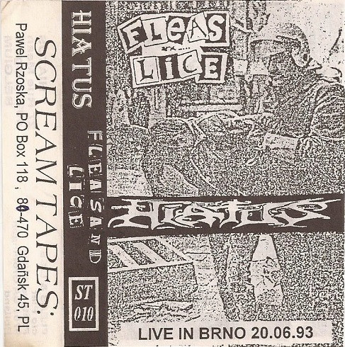 Fleas And Lice - Live In Brno 20.06.93