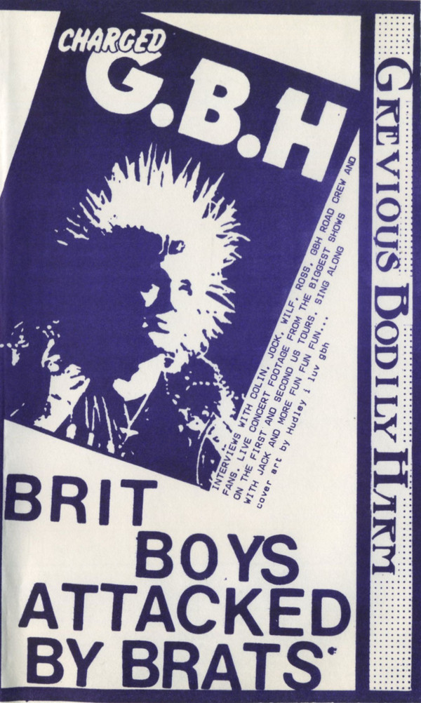Gbh - Flipside Video Fanzine Number Four