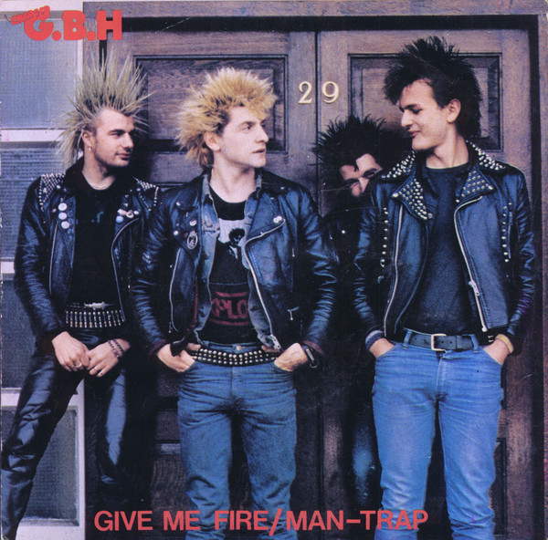 Gbh - Give Me Fire / Man-Trap