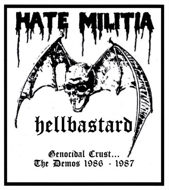 Hellbastard - Genocidal Crust:The Demos 1986 - 1987