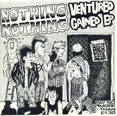 Hex - Nothing Ventured Nothing Gained EP