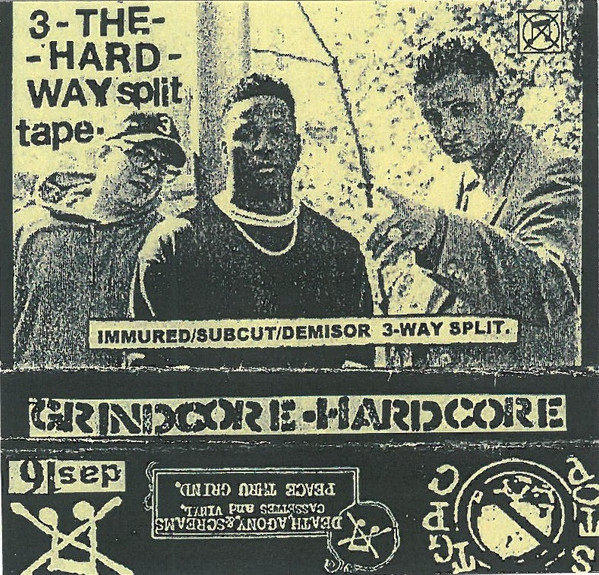 Immured - 3 - The Hard Way Split Tape