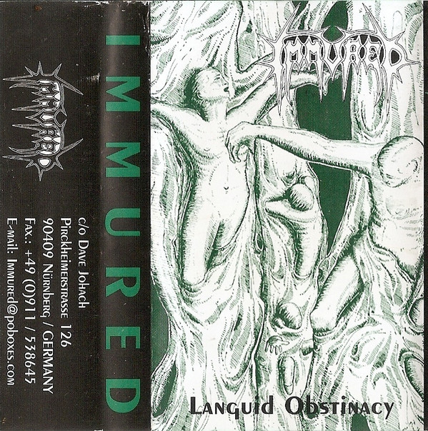 Immured - Languid Obstinacy