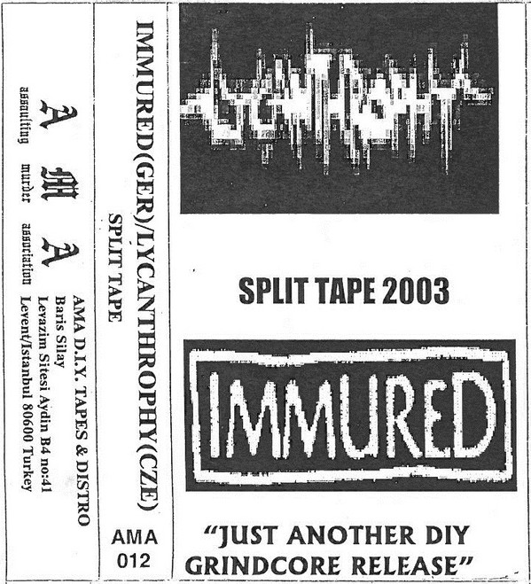 Immured - Recordings 2002 / 2003
