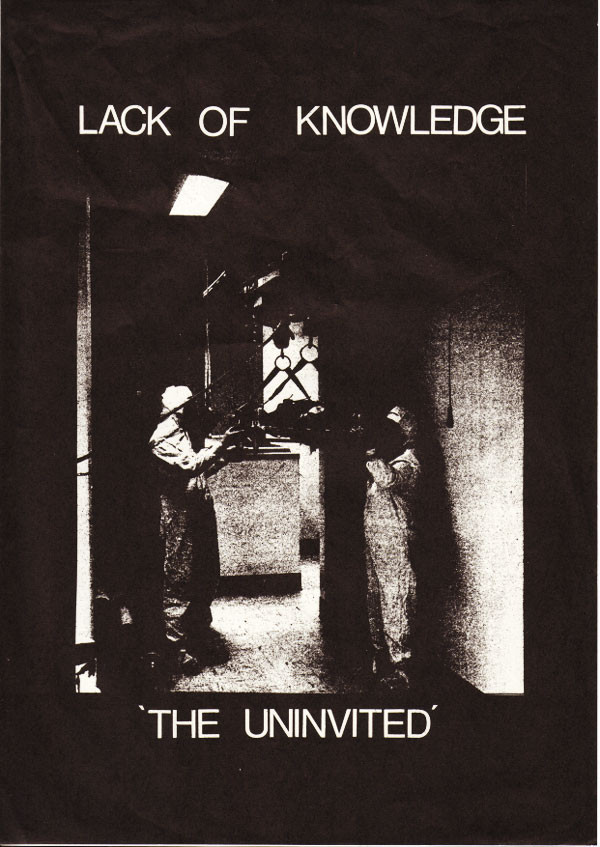 Lack Of Knowledge - The Uninvited / Ritual