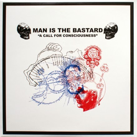 Man Is The Bastard - A Call For Consciousness / Our Earth's Blood