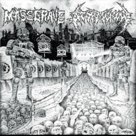 Massgrave - Split LP