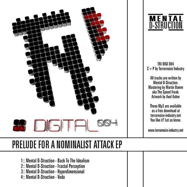Mental D struction - Prelude For A Nominalist Attack EP