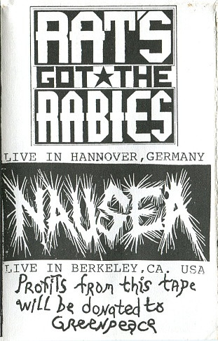 Nausea - Live In Hannover, Germany / Live In Berkeley, CA. USA