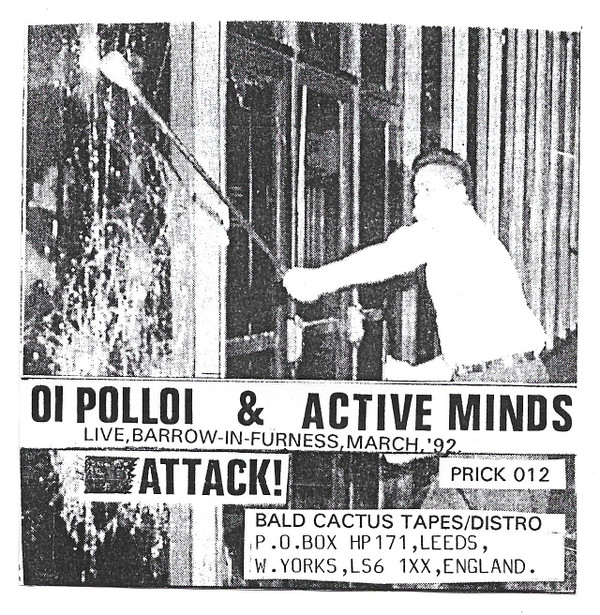 Oi Polloi - Live, Barrow-In-Furness, March,