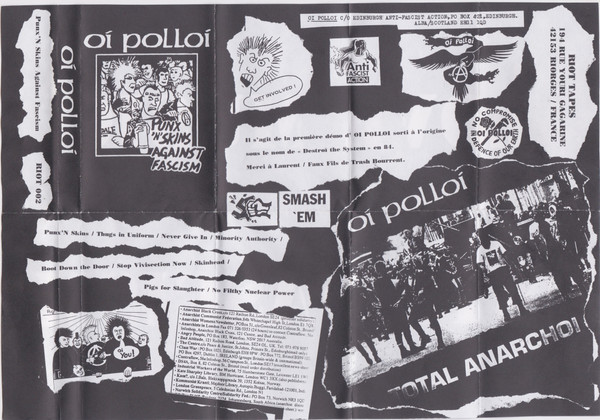 Oi Polloi - Punk N Skins Against Fascism