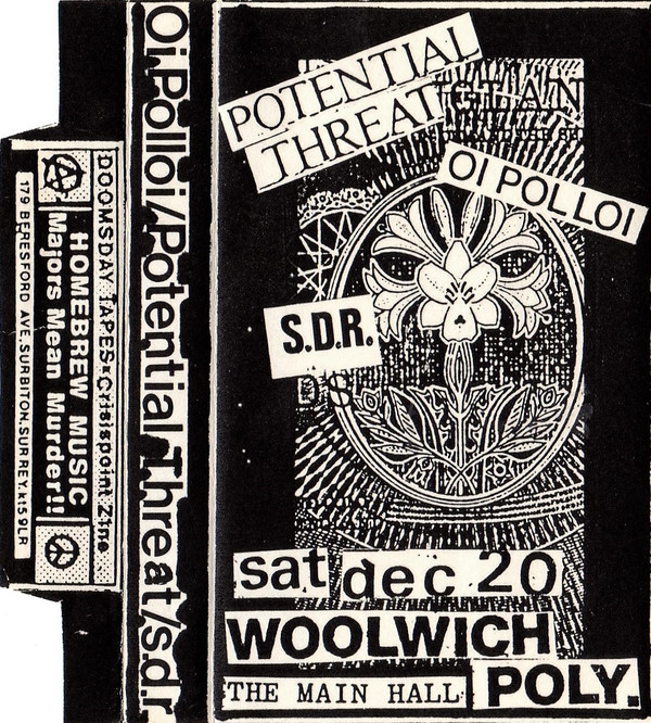Potential Threat - Live Woolwich Poly 20-12-86