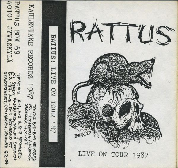 Rattus - Live On Tour 1987