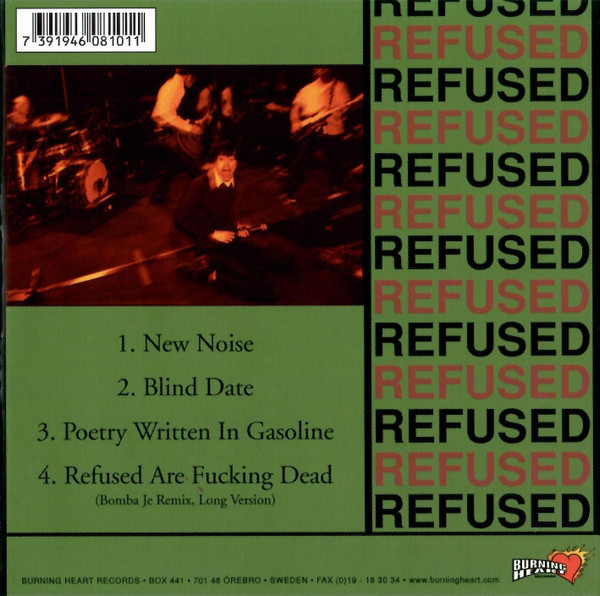 Refused - The New Noise Theology E.P.