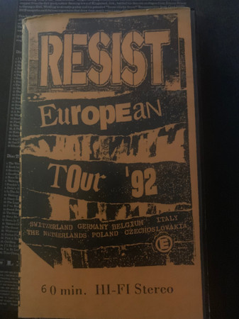 Resist - European Tour