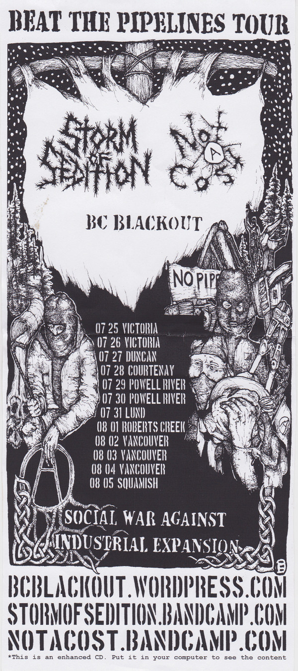 Storm Of Sedition - Beat The Pipelines Tour Split