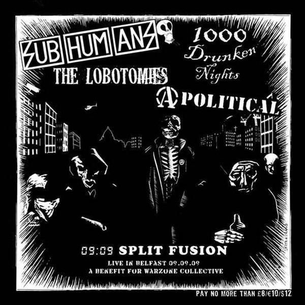 Subhumans - 09:09 Split Fusion