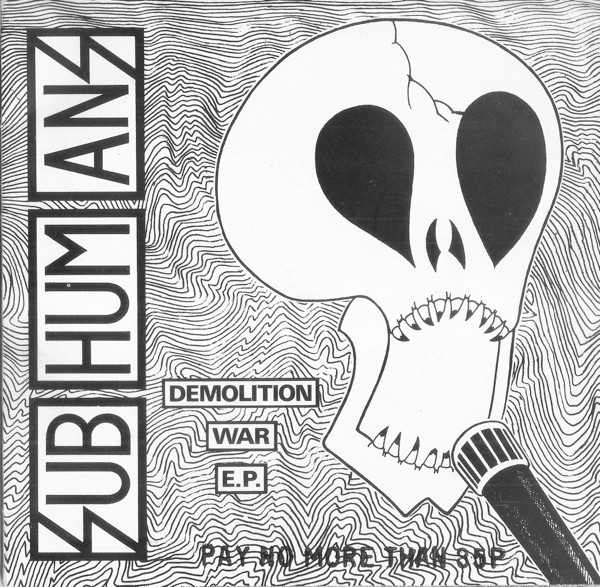 Subhumans - Demolition War E.P.