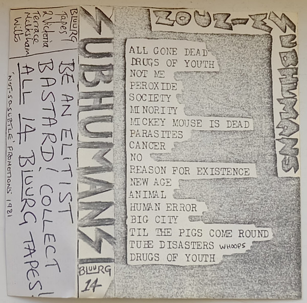 Subhumans - Live in Swindon