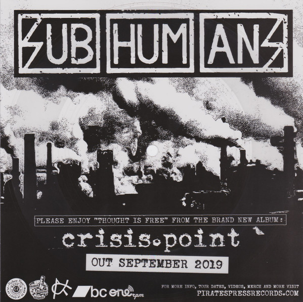 Subhumans - Thought Is Free