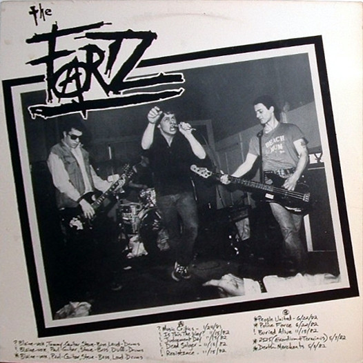 The Fartz - You, We See You Crawling