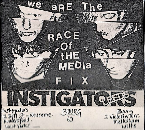 The Instigators - We Are The Race Of The Media Fix