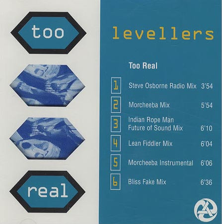The Levellers - Too Real