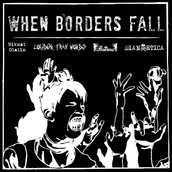 The Poseurs - When Borders Fall split