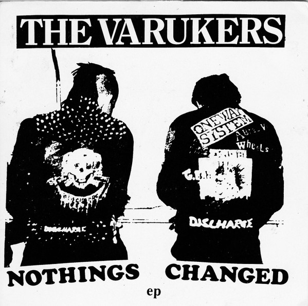 The Varukers - Nothings Changed EP