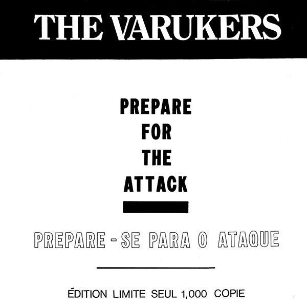 The Varukers - Prepare For The Attack