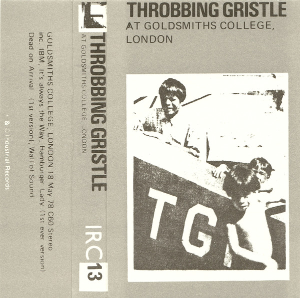 Throbbing Gristle - At Goldsmiths College, London