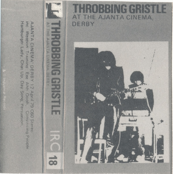 Throbbing Gristle - At The Ajanta Cinema, Derby