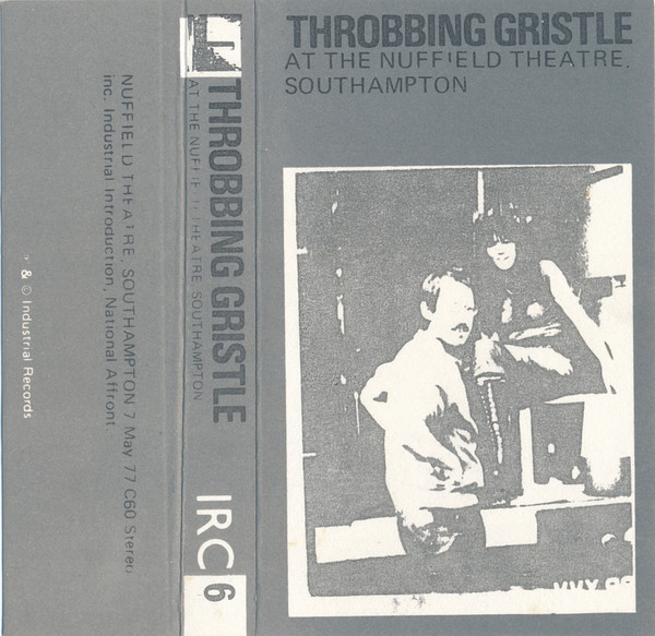 Throbbing Gristle - At The Nuffield Theatre, Southampton