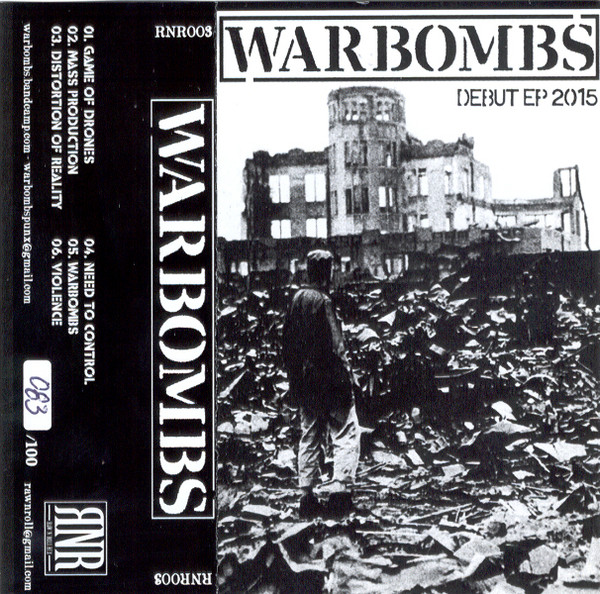 Warbombs - Debut Ep 2015