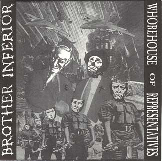 Whorehouse Of Representatives - Split EP