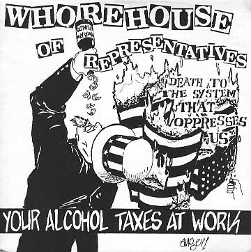 Whorehouse Of Representatives - Your Alcohol Taxes At Work