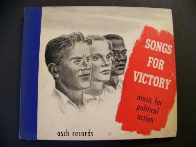Woody Guthrie - Songs For Victory: Music For Political Action